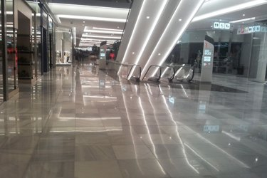 refinishing and crystallization of marble floors