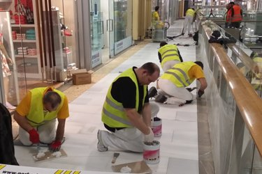pavement jointing special polyester filler shopping mall
